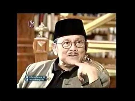Wawancara Habibie bacharuddin jusuf habibie terus terang bersama tina talisa 13 januari 2013 pt 1