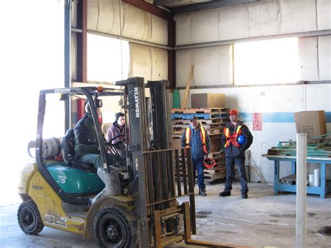 forklift operator commercial safety college