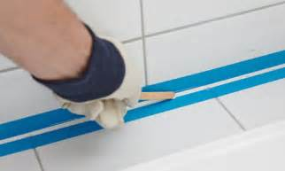 Bathtub Caulking Tape How To Silicone Seal A Bath Bunnings Warehouse