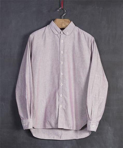 Oxford Shirt 05 albam club collar oxford shirt por homme contemporary