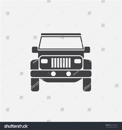 icon brickell tower 2 front desk 100 vector cartoon off road vehicle offroad car on