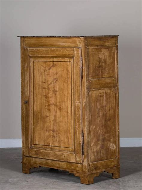 antique painted cabinet low armoire circa 1865 at