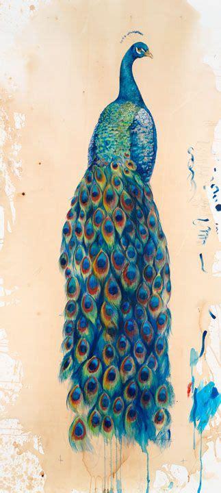 watercolor peacock tattoo watercolor peacock animal peacock