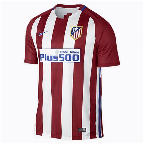 Raglan Atletico Madrid nike atletico madrid soccer jersey home 2016 17