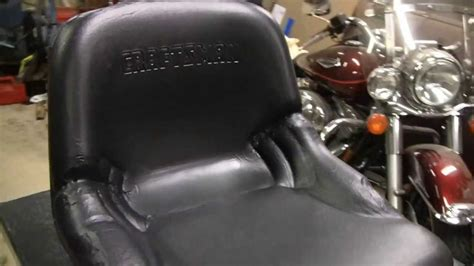 How To Repair Vinyl Upholstery by Plasti Dip Seat Repair