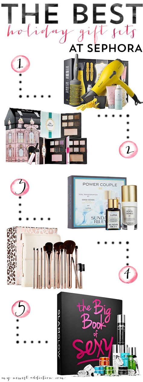 sephora gift sets the best gift sets at sephora faced gift