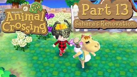 animal crossing new leaf house renovations animal crossing new leaf part 13 sahara s renovation hero s pants and mario s