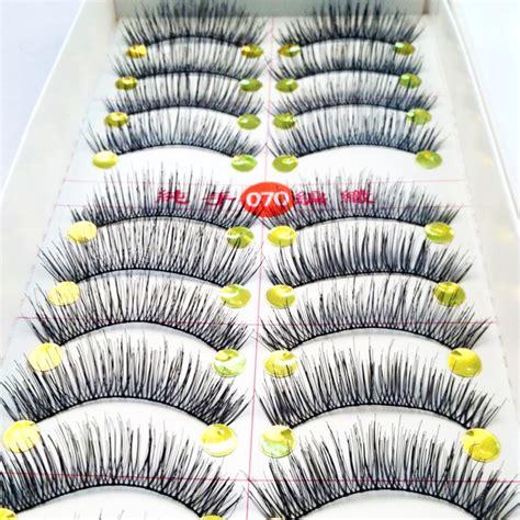 Bioaqua False Eyelashes 10 Pairs 1 10pair makeup thick false eyelashes eyelash cross naturally false eyelashes soft big