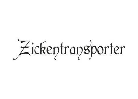 Autoaufkleber Spr Che by Autoaufkleber Spr 252 Che Zickentransporter