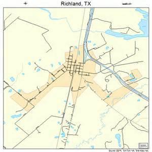 richland map 4861820
