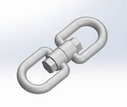 Crosby Shackle 3d Model