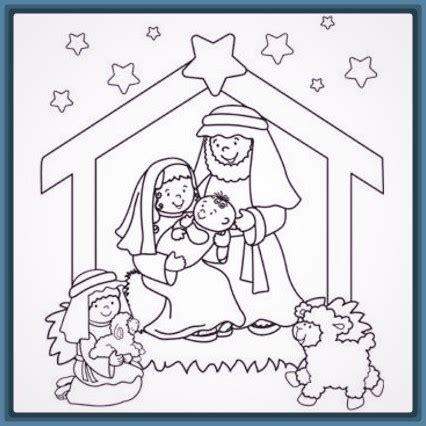 imagenes de pesebres navideños infantiles dibujos del pesebre de navidad para descargar imagenes