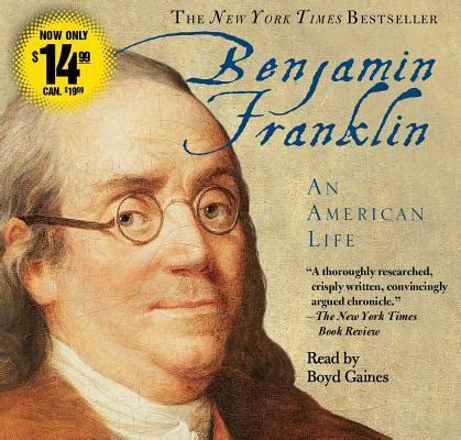 benjamin franklin an american benjamin franklin an american life abridged compact disc rainy day books