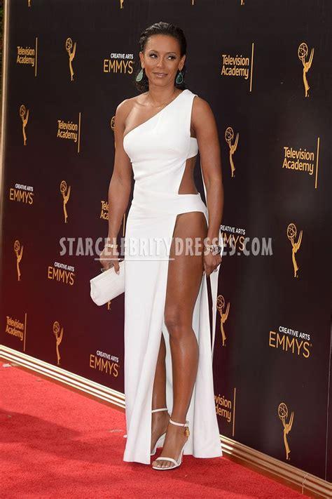 Melanie Brown Emmys 2016 Ivory Sexy Prom Dress   StarCelebrityDresses