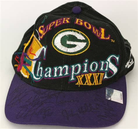 green bay packers light up hat lot detail 1997 green bay packers super bowl xxxi