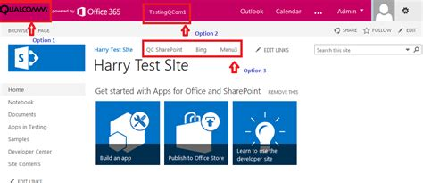 Office 365 Portal Customization Sharepoint Connoisseur Options And Tips To Customize The