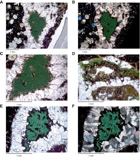 glauconite thin section proc iodp 330 site u1374