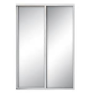 Mirrored Sliding Closet Doors Sliding Doors Interior Closet Doors Doors The Home Depot