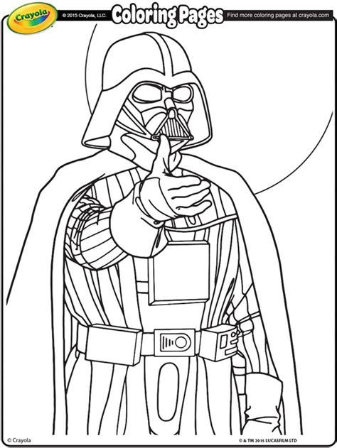printable coloring pages darth vader wars darth vader coloring page crayola