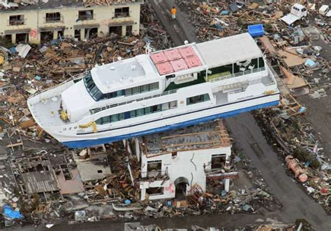 boat on building japan tsunami could a tsunami similar to japan s happen in southeast