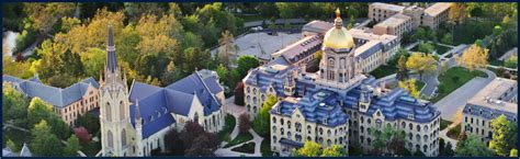 Getting Into Notre Dame Mba by Beyond The Mba Notre Dame Club Golf Mba Echoes