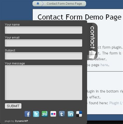 email wordpress dynamicwp contact form plugin for wordpress technogadge