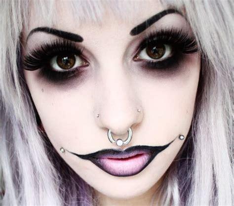 imagenes de halloween maquillage m 225 s de 195 fotos de maquillaje de halloween esbelleza com