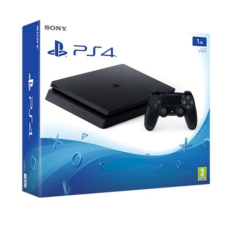 shop ps4 console ps4 slim console 1tb black ebay