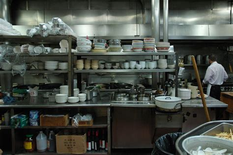 Seattle Kitchen Design tai tung chinese restaurant kitchen stacked bowls since
