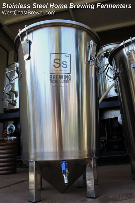 stainless steel brewing affordable stainless steel home brewing fermenters