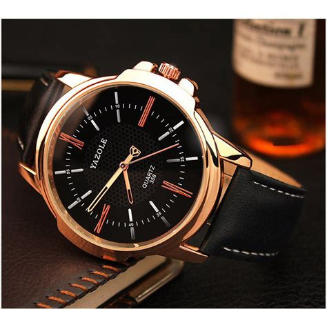 Jam Tangan The Leather Brown Black yazole jam tangan analog 358 black brown jakartanotebook