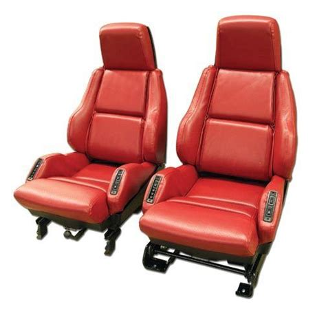 1984 corvette seats 1984 1988 corvette leather like seat covers for sport