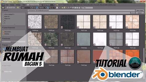 tutorial blender lengkap tutorial dasar blender 3d lengkap hd membuat rumah