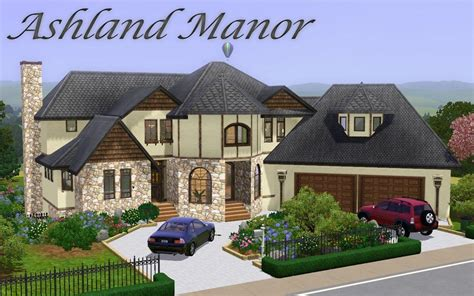 sims 2 house designs mod the sims ashland manor modern mock tudor