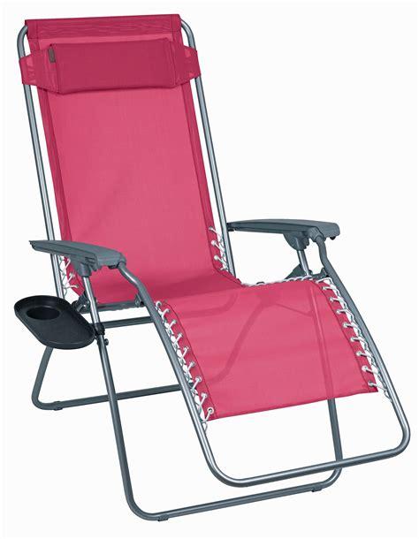 chaise relax lafuma lafuma rt relax chaise longue framboise galerie avec