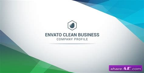 company profile after effects templates free videohive clean business company profile 187 free after