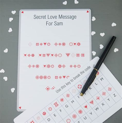 message for secret crush secret message by daisyley designs