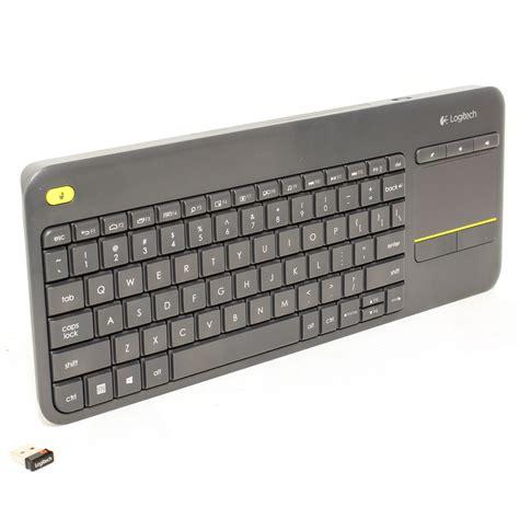 Keyboard Wireless Logitech K400 Logitech K400 Plus Wireless Touch Keyboard