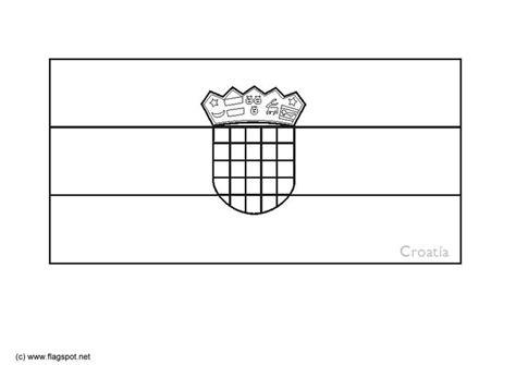 Croatia Flag Printable