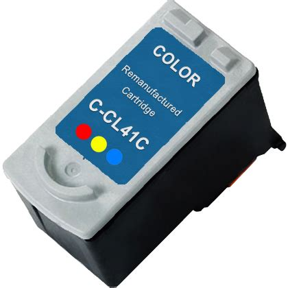 Dijamin Cartridge Canon 41 Color canon cl 41 color remanufactured ink cartridge