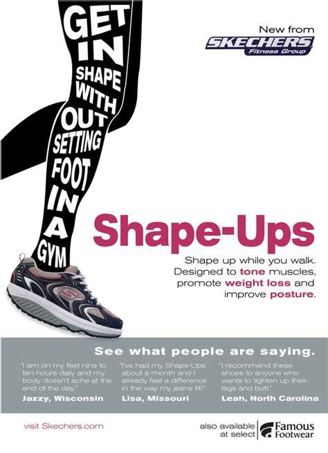 typography advertising sketchers fitness shape ups advertisement run run run shoe brands