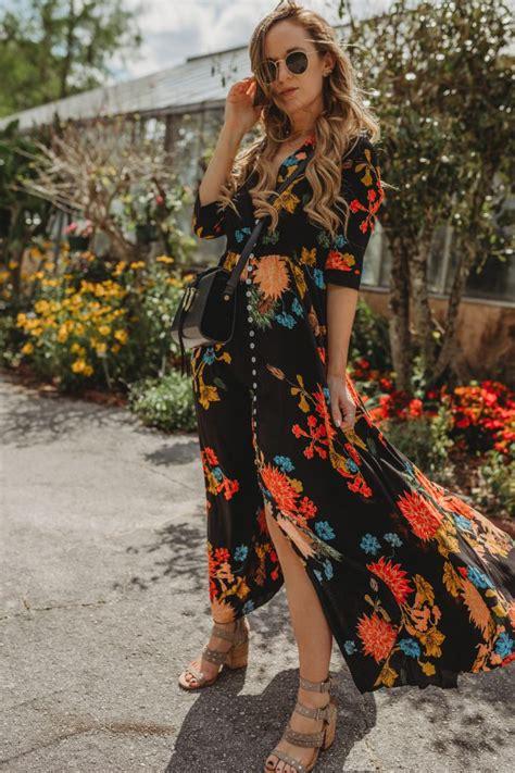 04 Vita Flowy floral vacation maxi dress upbeat soles orlando florida fashion