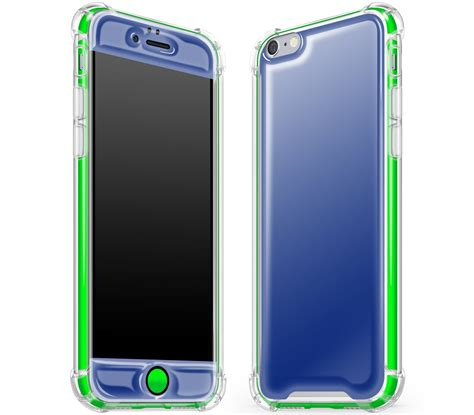 Iphone 6 6s Navy Blue 360 Protection Neo Hybrid iphone 6 6s navy neon green glow in the slim rugged