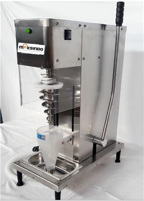 membuat es krim dengan mesin mesin ice cream sumstar ada di maksindo dengan merk