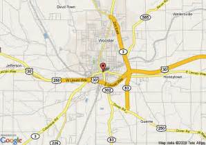Wooster Ohio Map by Map Of Best Western Wooster Plaza Wooster