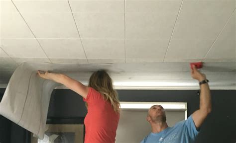 Installing Wood Ceiling Planks by Ceiling Makeover Nesting With Grace
