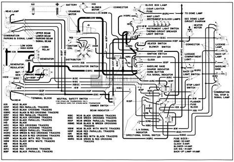 1950 ford dash wiring diagram wiring diagram with
