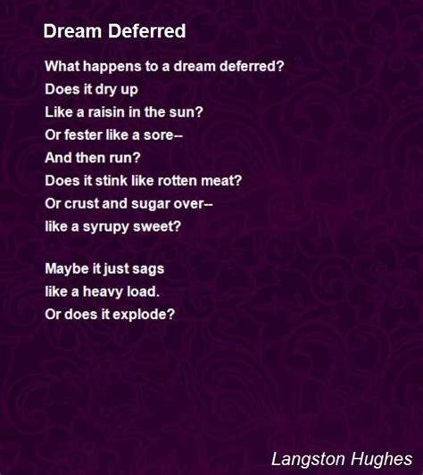 Dreams Deferred Essay by 25 Best Ideas About Langston Hughes Poems On Langston Hughes Quotes Langston