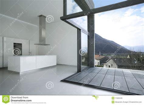 moderne landhausmöbel maison moderne vide image stock image du moderne jour