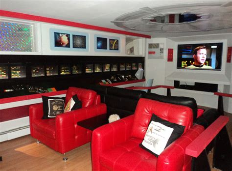 Trek House by Trek Fan Spends 30k On Renovating Basement To